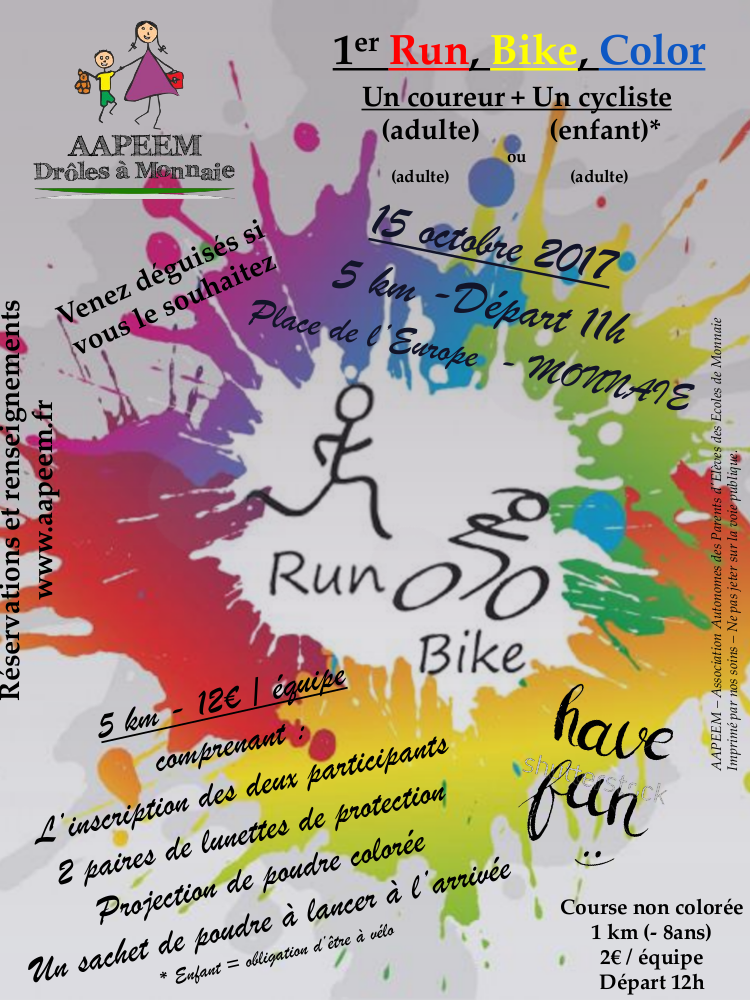 Run bike color