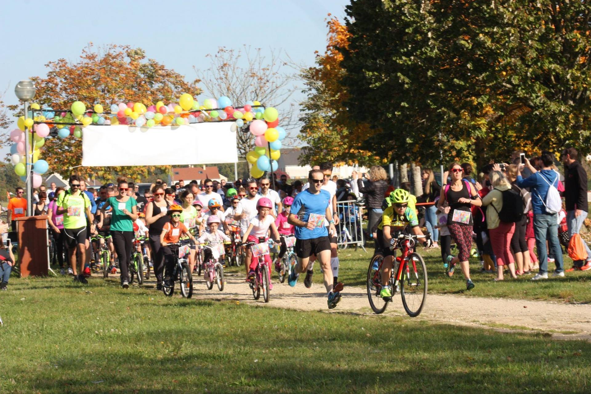 Run Bike Color